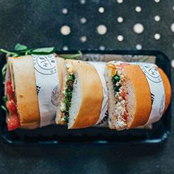 Gluten free sandwich/panini/wrap thumbnail