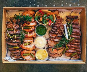 Hunter meat platter thumbnail