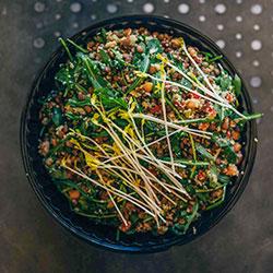 Mediterranean lentil salad thumbnail