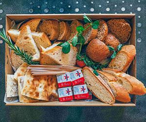 Rustic bread selection thumbnail