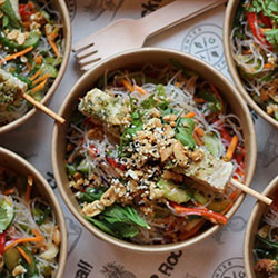 Vietnamese chicken noodle bowl thumbnail