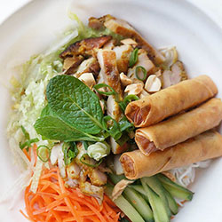 Combination with 2 choices noodle salad thumbnail