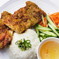 Grilled chicken rice thumbnail