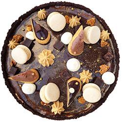 Marsbar cheesecake thumbnail