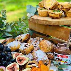 Light breakfast grazing table thumbnail