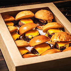 Double cheese beef slider thumbnail