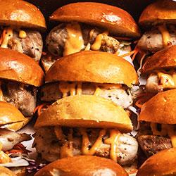 BBQ chicken slider thumbnail
