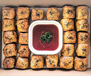 Housemade sausage roll - mini thumbnail