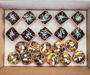 Savoury tarts thumbnail