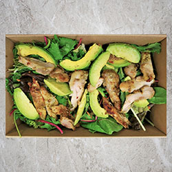Chicken avocado salad thumbnail