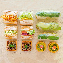 Vegetarian lunch package thumbnail
