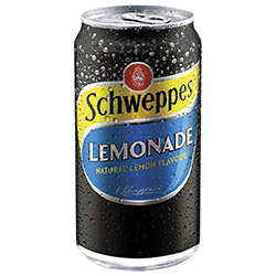Schweppes soft drink - cans - 375ml thumbnail