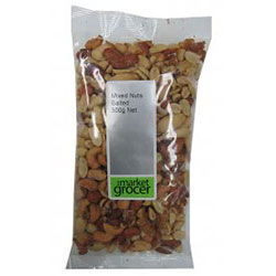 TMG Mixed Nuts Salted - 500g bag thumbnail