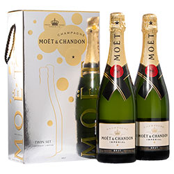 Moët & Chandon Brut Imperial Twin Gift Pack thumbnail