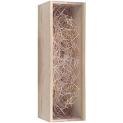 Gift Box Wooden Single with Perspex Lid thumbnail