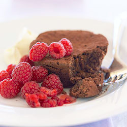 Baby flourless chocolate cake thumbnail