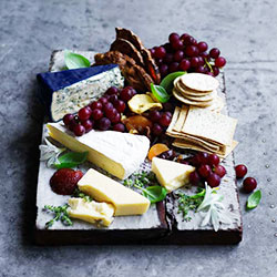 Cheese and fruit platter - serves 10 thumbnail