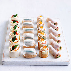 Mixed cold canape platter thumbnail