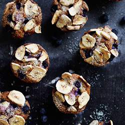 Banana and blueberry muffin - large thumbnail