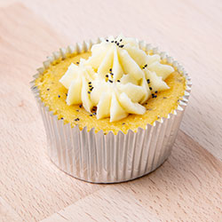 Orange and poppyseed cupcake thumbnail