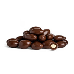 Dark chocolate coated almonds - 1kg thumbnail