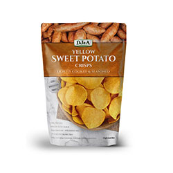 DJ&A Sweet potato chips thumbnail