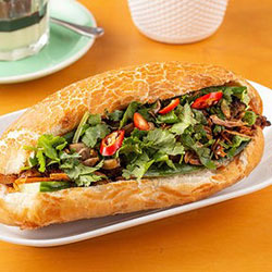 Char-grilled chicken baguette thumbnail