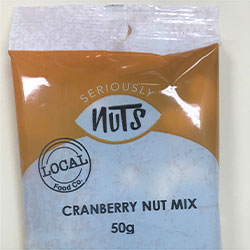 Cranberry mix - Seriously Nuts - 50g thumbnail