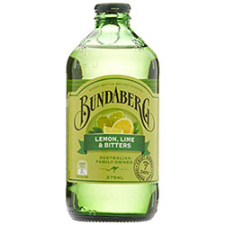 Lemon, lime and bitters - Bundaberg thumbnail