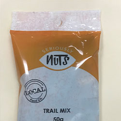 Trail mix - Seriously Nuts - 50g thumbnail