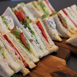 Gourmet sandwich round thumbnail