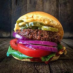 Chilli beef burger thumbnail