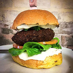 Falafel burger thumbnail