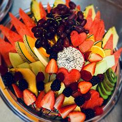 Deluxe fruit platter thumbnail