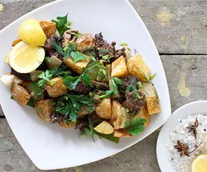 Greek lamb and potatoes thumbnail