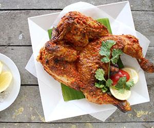 Butterflied chicken platter thumbnail