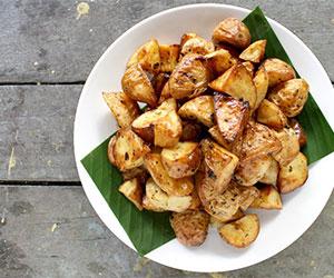 Duck fat roasted potatoes thumbnail