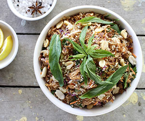 Vietnamese chicken, cabbage and peanut salad thumbnail