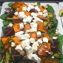 Pumpkin and beetroot salad thumbnail