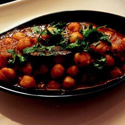 Chole masala curry thumbnail