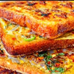 Masala French toast sandwich thumbnail