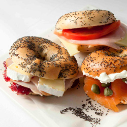 Assorted bagels - mini thumbnail