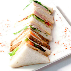 Assorted gourmet sandwiches thumbnail