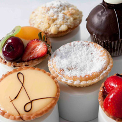 Cake and tart assortment thumbnail