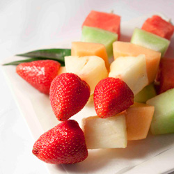 Fresh fruit skewers thumbnail