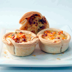 Home made quiches - mini thumbnail