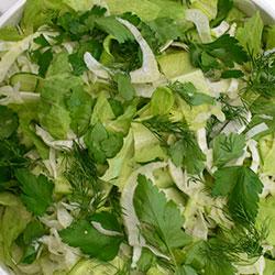 Greens salad thumbnail