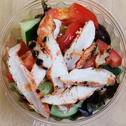 Tandoori spiced chicken salad thumbnail