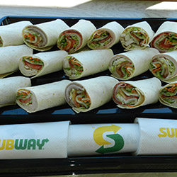 Signature wrap platter - serves 5 to 8 thumbnail