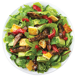 Grilled beef and haloumi salad thumbnail